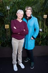 Alice Arnold and Clare Balding