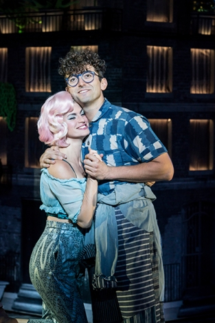 LITTLE SHOP OF HORRORS by Ashman ; Directed by Maria Aberg ; Designed by Tom Scutt ; At the Regents Park Open Air Theatre, London, UK ; July 10 2018 ; Credit : Johan Persson