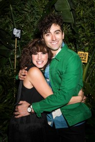 Jemima Rooper (Audrey) and Marc Antolin (Seymour). Photo David Jensen