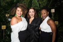 Renée Lamb, Christina Modestou and Seyi Omooba. Photo David Jensen